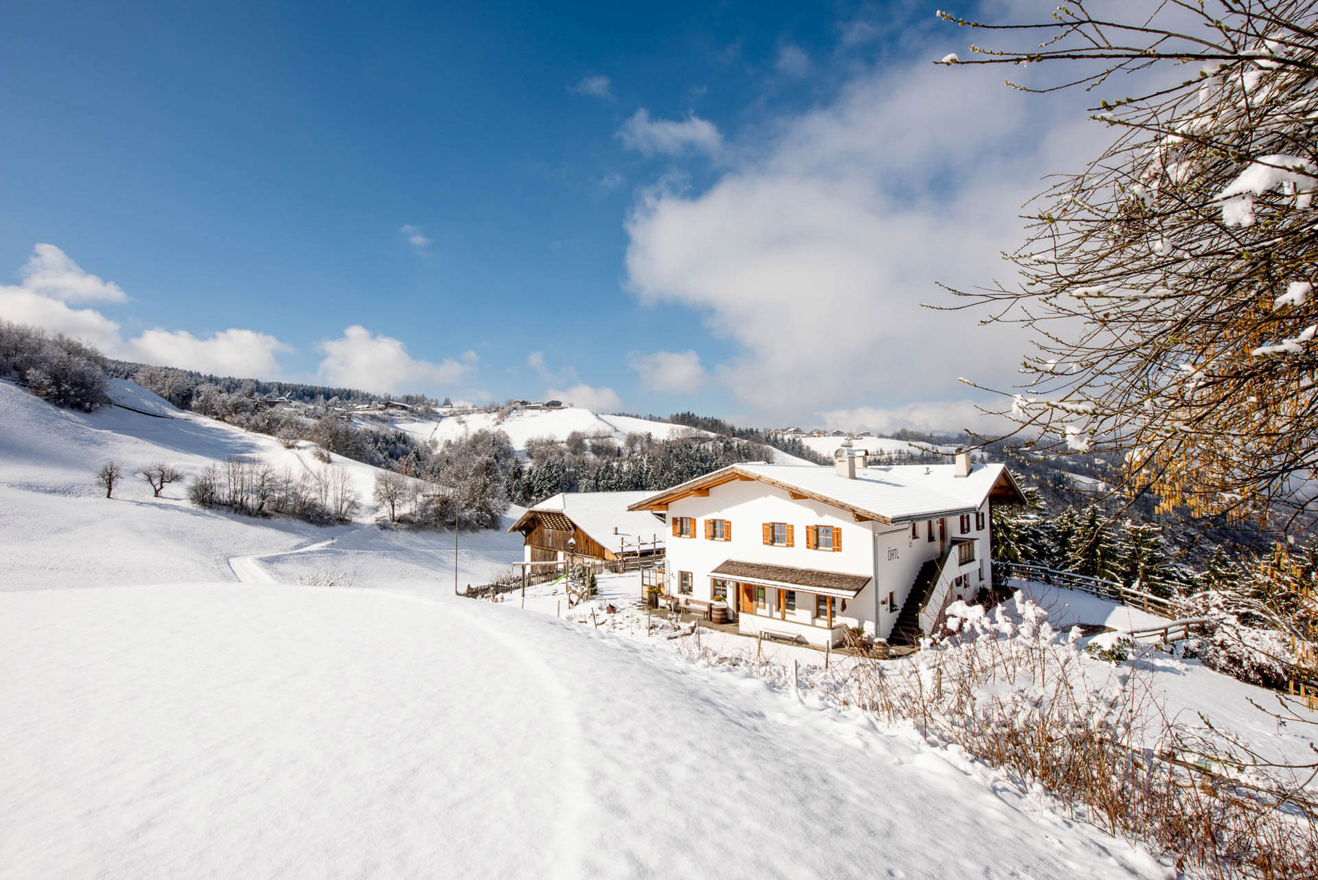 Paradiso invernale all'Örtlhof di Seis am Schlern