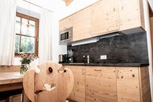 cucina-soggiorno dell'appartamento Mini