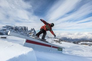 Snowpark King Laurin on the Seiser Alm